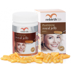 Sữa ong chúa Rebirth - Platinum Royal Jelly