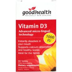 Vitamin D3 - Giúp hấp thụ canxi