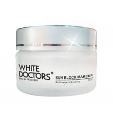 Kem chống nắng trang điểm White Doctors Sun Block Makeup - Hũ (40ml)