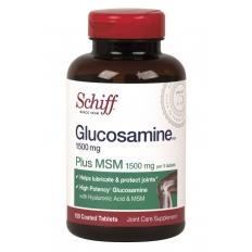 Viên uống bổ khớp Schiff Glucosamine plus MSM 1500mg