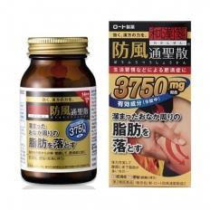 Viên giảm mỡ bụng Rohto 3750 Nhật Bản