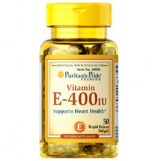 Viên uống bổ sung Vitamin E-400 IU - Hộp (50 viên)