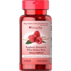 Viên giảm cân chiết xuất từ quả mâm xôi - Raspberry Ketones & White Kidney Bean 600mg Complex