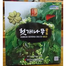 Nuớc uống giải độc gan Hovenia Dulcis Gold Hàn Quốc