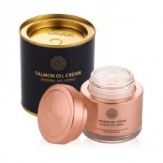 Kem dưỡng da cá hồi Salmon Oil Cream Hàn Quốc - Hũ (80g)