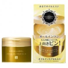 Kem Dưỡng da chống lão hoá Shiseido Aqualabel Special Gel Cream Oil In nhãn vàng