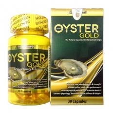 Tinh chất hàu tươi Oyster Gold của Mỹ - Hộp (30 viên nang)