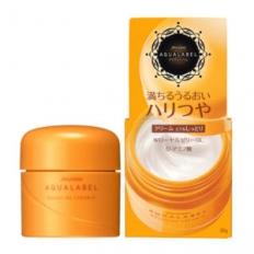 Kem dưỡng đêm Shiseido Aqualabel nhãn vàng
