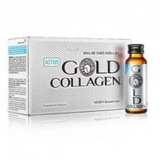 Nước Uống Active Gold Collagen - Hộp (10 lọ x 50m)