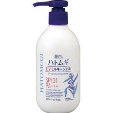Sữa Dưỡng Thể Trắng Da Chống Nắng Hatomugi SPF31 PA+++ Nhật Bản