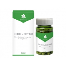 Detox & Diet Bio - Hộp (60 viên)
