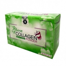 Green Collagen Powder - Diệp Lục Collagen - Hộp (30 gói)